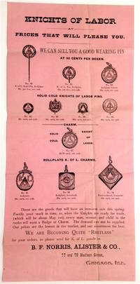 Knights of Labor at prices that will please you [advertising broadside]