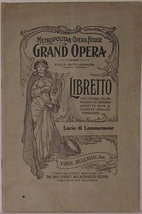 image of Lucia di Lammermoor: A Grand Opera in Four Acts