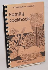 Family Cookbook. 30th Anniversary 1949-1979
