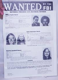 image of Wanted by the FBI. William Taylor Harris, Emily Montague Harris [and] Patricia Cambell Hearst