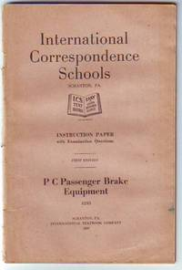 P C Passenger Brake Equipment, Instruction Paper with Examination Questions
