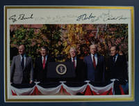 Photograph of Five Former Presidents Signed