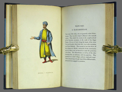 London: Printed for John Murray by W. Bulmer & Co., 1814. First edition. Three quarter later navy bl...