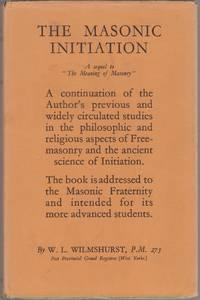 The Masonic Initiation