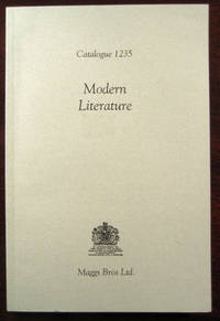Modern Literature: Catalogue 1235