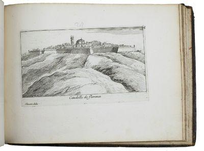 Livre des paysages de Callot. Propre...