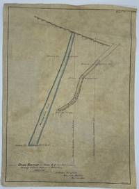 Cross Section on Plane A-B (Plan Map). Showing St. Louis Trespass in 9 Hour Claim