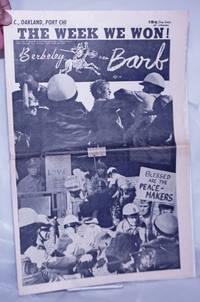 image of Berkeley Barb: vol. 5, #17 (#115) October 27-Nov. 2, 1967: The Week We Won!