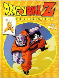 image of Dragonball Z Tattoo Activity Book, The Quest