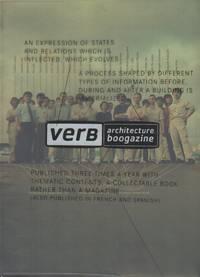 VERB PROCESSING: Architecture Boogazine [Cover Title]