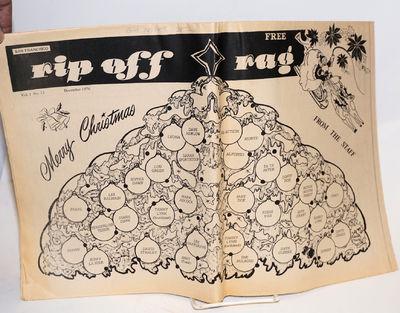San Francisco: Gallery Workshop, 1976. Newspaper. , folded tabloid newspaper, photos, illustrations,...