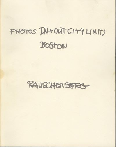 West Islip, NY: ULAE Inc, 1981. First edition. Rauschenberg, Robert. 4to., (4), iii, plus 45 full-pa...