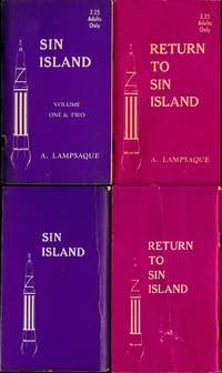 Sin Island (2 vintage adult paperbacks)
