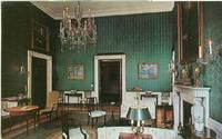 Washington DC, The White House – Green Room - unused Postcard