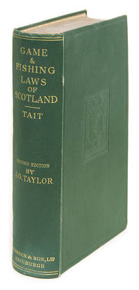 A Treatise on the Law of Scotland as Applied to the Game Laws..