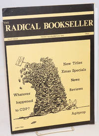 The radical bookseller. Pilot issue (Nov. 2nd, 1979)