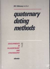 Quaternary Dating Methods.  Developments in Palaeontology and Stratigraphy Volume 7