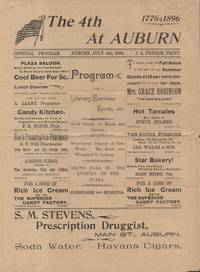 4th at Auburn - Official Program, Auburn, July, 1896