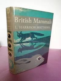 New Naturalist No.  21 BRITISH MAMMALS