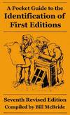 image of A Pocket Guide to the Identification of First Editions (Seventh edition); Seventh Revised Edition