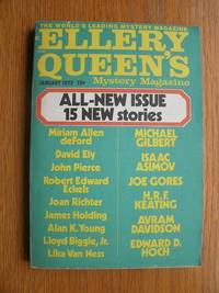 Ellery Queen's Mystery Magazine January 1972