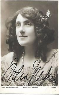 Edwardian Era Stage Actress, Miss JULIA NEILSON on 1910s Era Real Photo Postcard