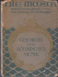 Die Musik in Böhmen. Herausgegeben von Richard Strauss.