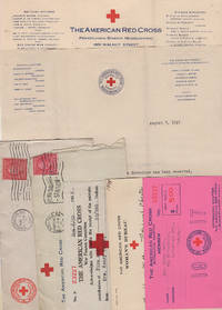 Correspondence archives documenting one woman's effort to volunteer as a surgical bandage and dressing preparer during World War One