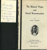 image of BLESSED VIRGIN AND SOCIAL RECONSTRUCTION, The.