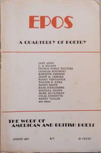 EPOS A Quarterly of Poetry Spring 1965