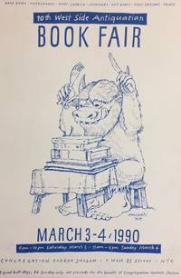 10th West Side Antiquarian Book Fair; March 3-4, 1990