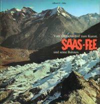 Saas-Fee und seine Bahnen.
