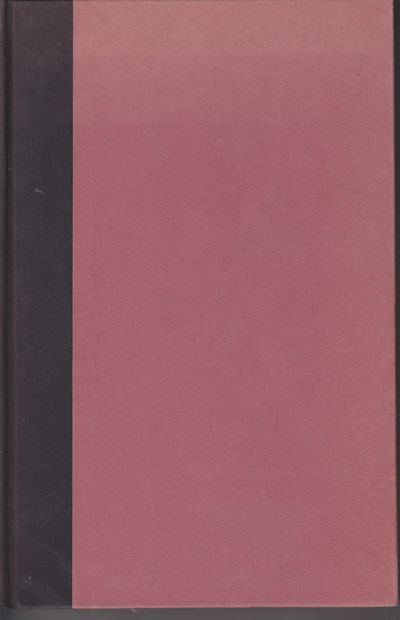 n. p.: n. p. 1943. Hardcover. Light red paper-covered boards with black cloth backstrip stamped in g...