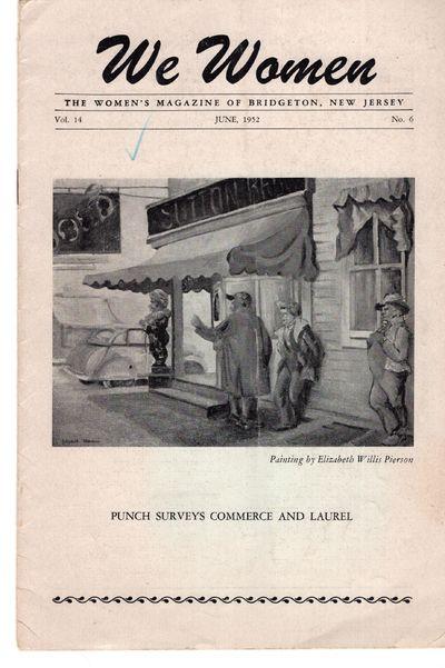 Bridgeton: COWAN Printing , 1952. Staplebound. Good. Pierson . Stapled booklet, 9