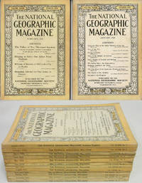 THE NATIONAL GEOGRAPHIC MAGAZINE (12 ISSUES, 1918)