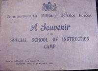 FEDERAL SPECIAL SCHOOL OF INSTRUCTION CAMP. (Australia) Commonwealth Military Forces 1911