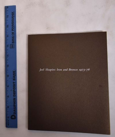 New York: Craig F. Starr Gallery, 2014. Paperback. VG. Bronze wraps with white lettering. Unpaginate...