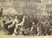 Scene in the New York Gold Room during the Great Excitement of September 24th, 1869 - Gold 160