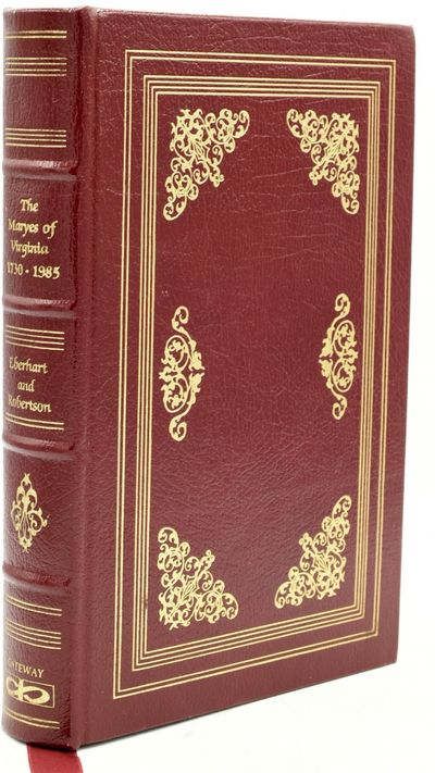 Baltimore: Gateway Press, 1985. Full Leather. Near Fine binding. Large 8vo.; in the publisher's full...