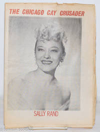 image of Chicago Gay Crusader: the total community newspaper; #18, 1974: Sally Rand