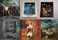 "JAN SAUDEK: DIVADLO ZIVOTA (""JAN SAUDEK: THEATRE OF LIFE"") by  Daniela (Author/Editor)  Jan (Artist/Photographer) & Mrazkova - Signed First Edition - 1991 - from Modern Rare and Biblio.com"