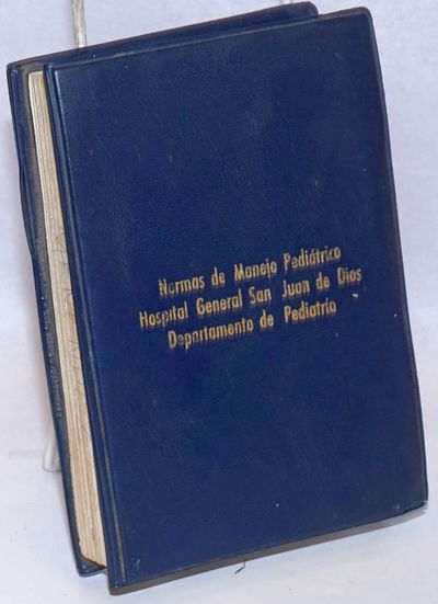 : the Hospital, n.d.. 438p., bound with bolts in plastic covers; ownership inscription, edge soil, n...