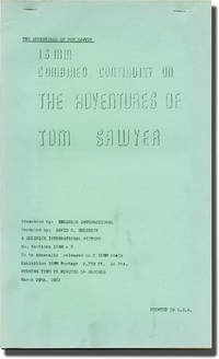 image of The Adventures of Tom Sawyer (Post-production script for the 1961 re-release of the 1938 film)