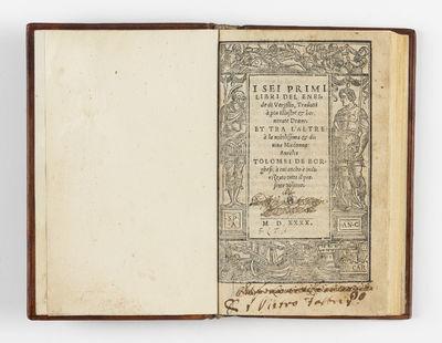 I sei primi libri del Eneide di...