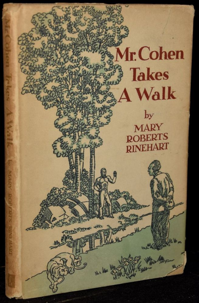 Black Swan Book Cover : Mr cohen takes a walk by mary roberts rinehart first