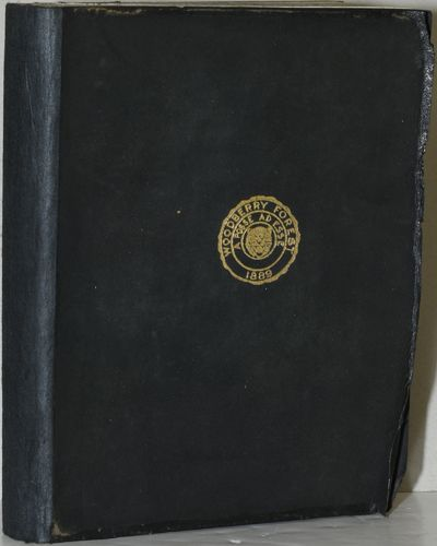 Orange, Virginia: The Students of Woodberry Forest School, 1909. Full Leather. Very Good binding. Si...