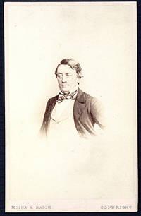 Carte-de-visite photograph portrait by Moira & Haigh ca. 1865