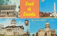 Land of Lincoln, Illinois unused Postcard
