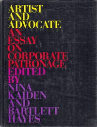 Artist and Advocate:  an essay on corprorate patronage by ed by Kaiden & Hayes - 1995 - from Hard-to-Find Needlework Books and Biblio.co.uk