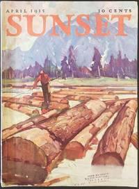 Sunset Magazine.  April 1935.